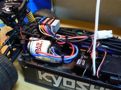 LAZER ZX5 メカレイアウト