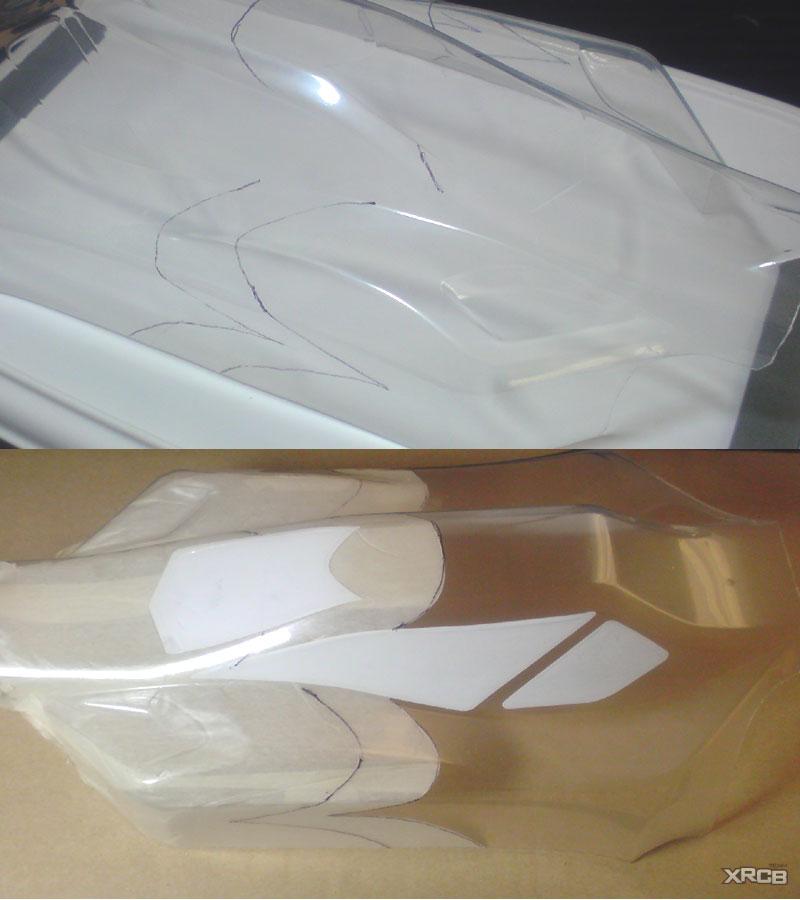 ZX5ボディ塗装