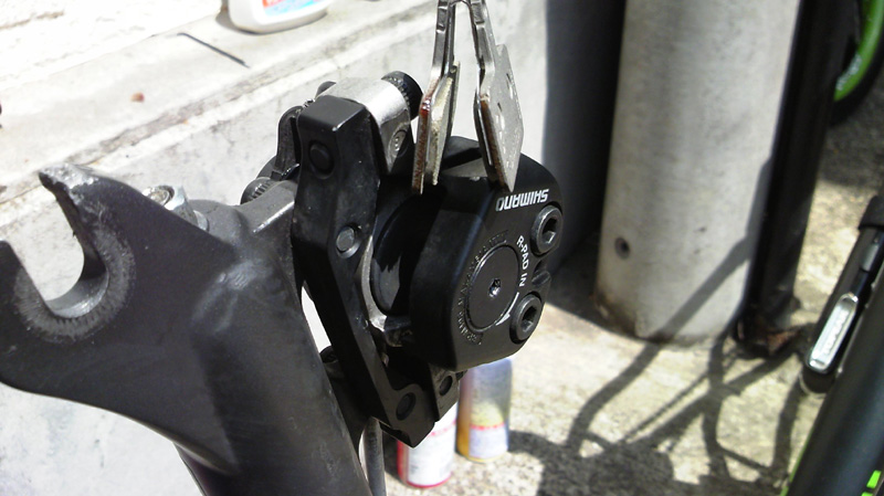 BR-M416 ディスクブレーキ レジンパッド 交換