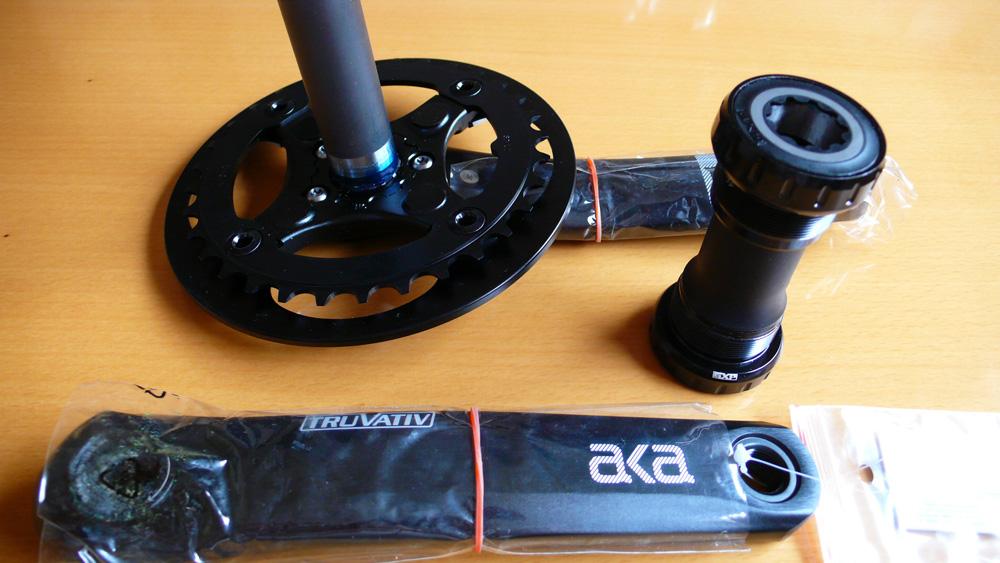 Truvativ AKA Chainset GXP 1.1G